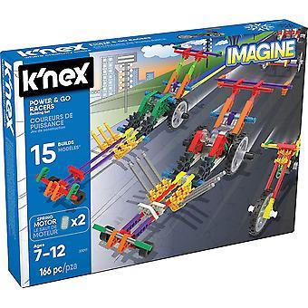 K'Nex Imagine Power & Go Racer Building Set 166 Piece Age 7+