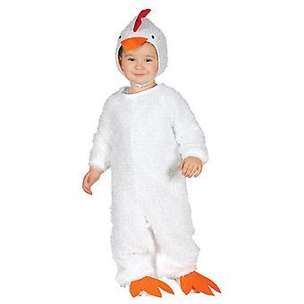 Toddlers Hen Fancy Dress Costume