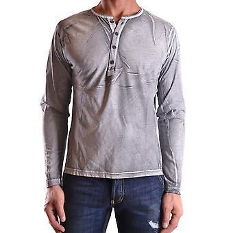 Daniele Alessandrini Ezbc107106 Männer's grau Baumwolle Polo Shirt