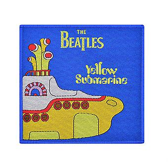 The Beatles Yellow Submarine Woven Patch