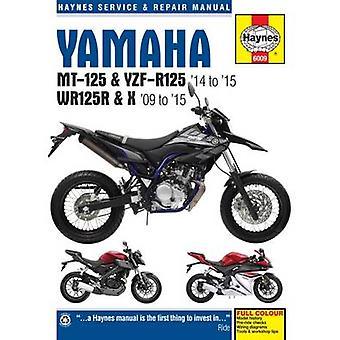 Yamaha MT 125 - YZF R125 & WR125R Service and Repair Manual - 2009 - 2