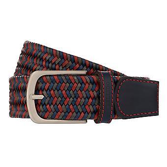 MIGUEL BELLIDO Belt Lord Belt Lear Belt Braiding Belt Stretch Red 8019