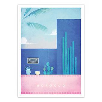 Art-Poster - Visita il Marocco - Henry Rivers 50 x 70 cm