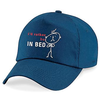 Men's I'd Rather Be In Bed Cap