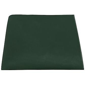 Luxury Dark Green Velvet Pocket Square