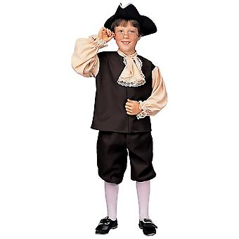 Kolonial dreng victoriansk Olddag historiske Pioneer bog uge drenge kostume