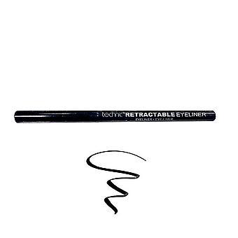 Technic Twist Up Retractable Kohl Eyeliner Liner - Black