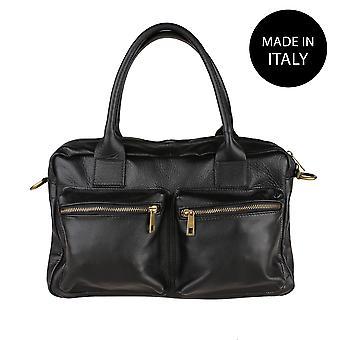 Handväska i läder 6173