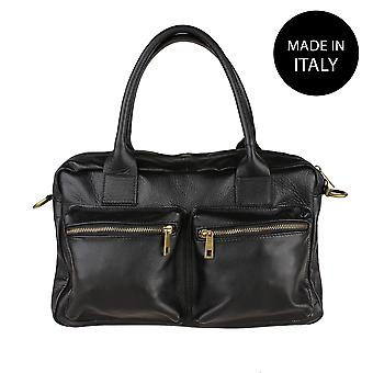 Handbag made in leather 6173
