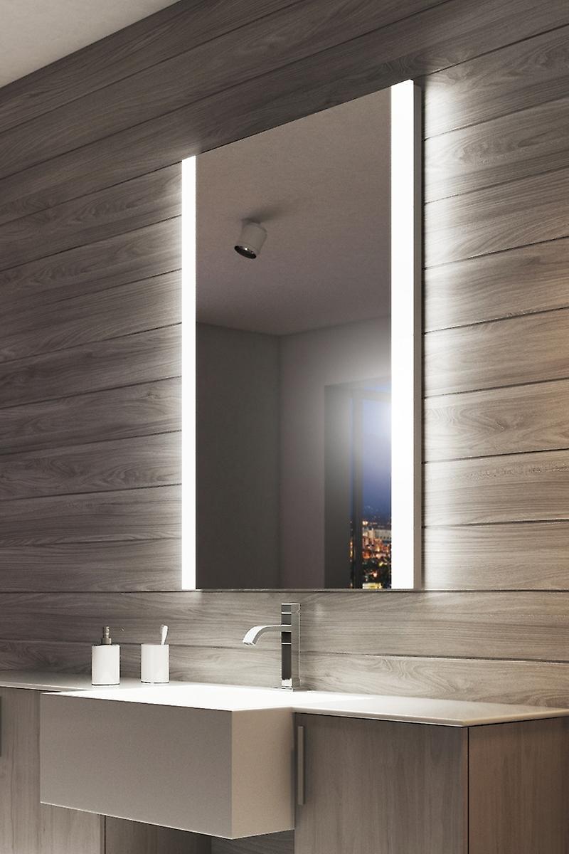 Ambient Double Edge LED Bathroom Shaver Mirror k8501vW