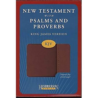 KJV New Testament with Psalms and Proverbs (Kjv Bible Espresso With Flap)