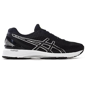 Asics Gel-DS 23 Womens Ladies Running Trainer Shoe Black/Silver