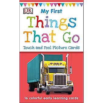 My First Touch and Feel Picture Cards - Things That Go by DK - 9781465