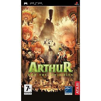 Arthur och Invisibles (PSP)-nya
