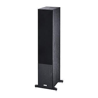 Magnat Tempus 77, caixa de suporte de 3 vias, preta, max. 320 watts, 1 peça