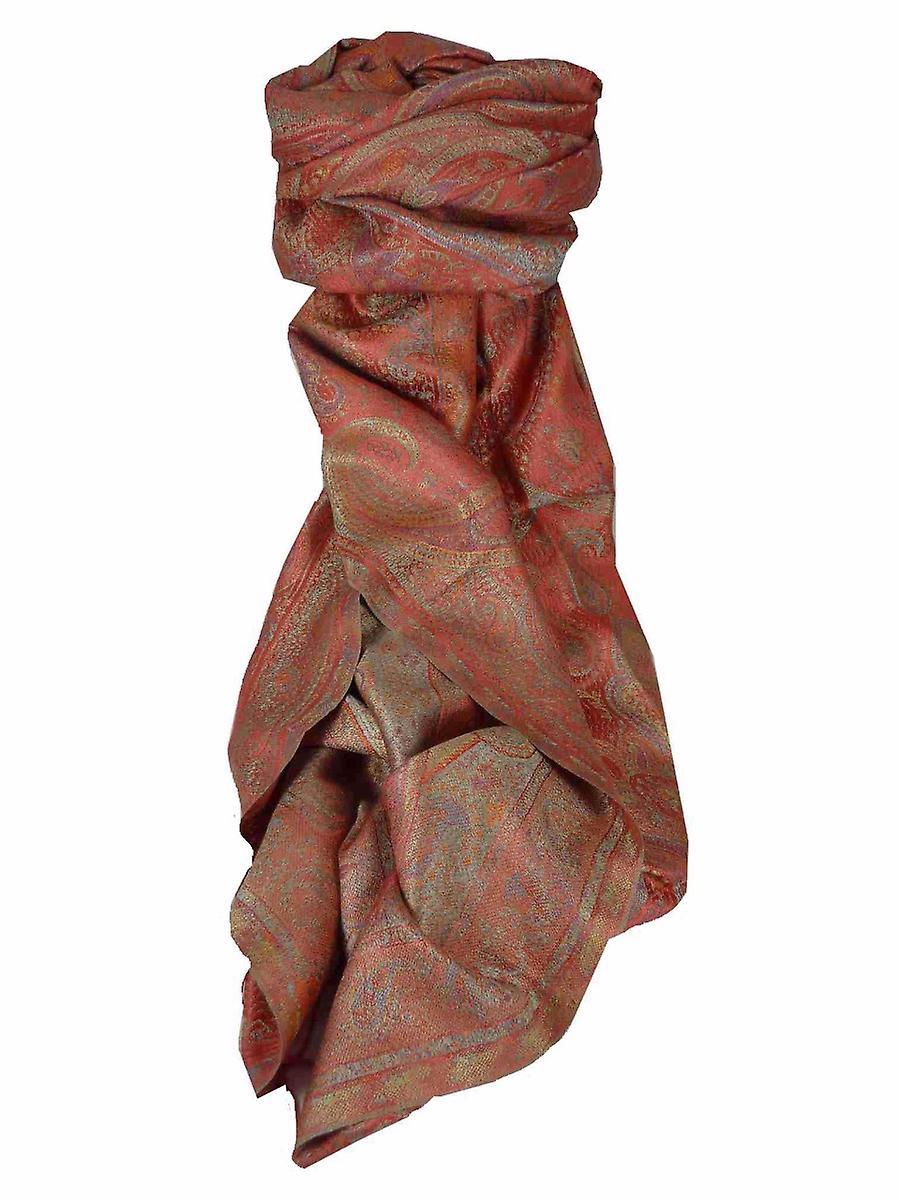 Mens Jamawar Premium Silk Scarf Pattern 5729 by Pashmina & Silk