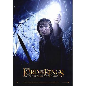 The Lord Of The Rings: The Return Of The King (Frodo & Light Reprint) (2003) Reprint Cinema Poster