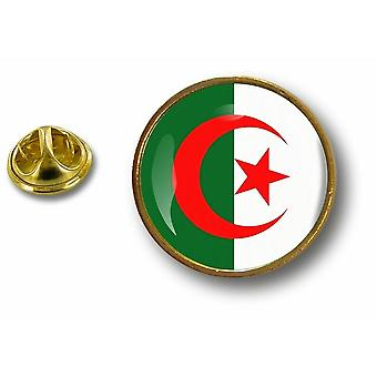 Pins Pin Badge Pin's Metal Button Drapeau Cocarde Air Force Militaire Algerie