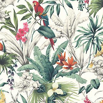 Fugle af paradis tapet multi Accessorize 275208