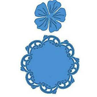 Marianne Design  Doily Round Creatable Die, Blue