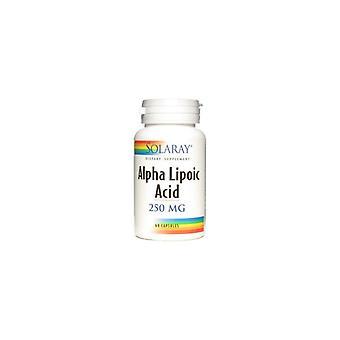 Solaray Alpha Lipoc Acid 60 Kapselit