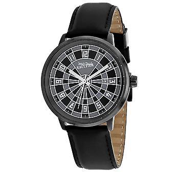 Jean Paul Gaultier Men's Cible Black / Grey Dial Watch - 8504804