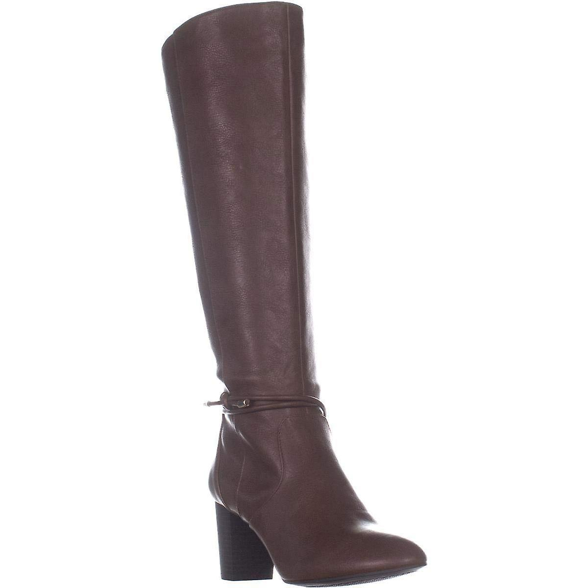 A35 Giliann Wide Calf Knee High Boots, Cognac, 10 Stany Zjednoczone ybVYN