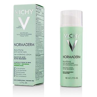 Vichy Normaderm Beautifying Anti-acne Care - 24h Hydrating Lotion Salicylic Acid Acne Treatment - 50ml/1.7oz