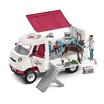 Schleich Horse Club Mobile Vet with Hanoverian Foal Toy (42370)