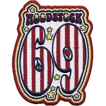 Patch - Woodstock - 69 New Iron-On p-3222