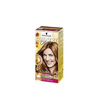 Schwarzkopf Country Color Hair Color - Conhaque / Marrom Quente 49