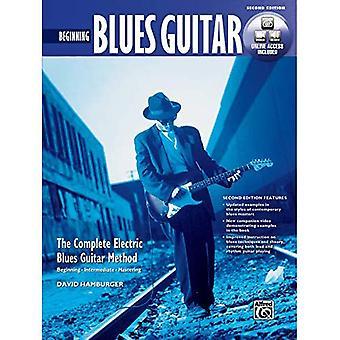 Método de guitarra de Blues completa: Principio guitarra de Blues (libro y DVD)