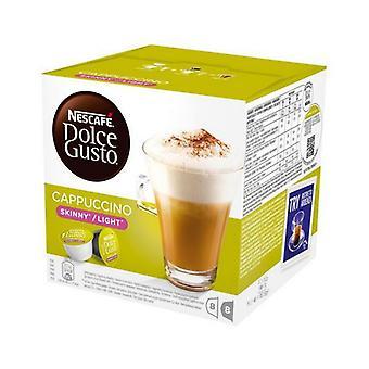 Cápsulas de café Nescafé Dolce Gusto 87377 Cappuccino Light (16 uds)