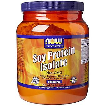 Now Foods Soy Protein Isolate  Unflavored 544 g