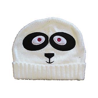 Ladies strikket nyhet Animal Face mote Beanie ski varm vinter lue