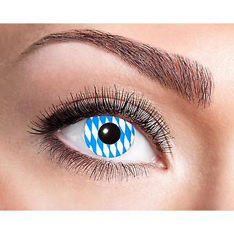 Oktoberfest Bayrische Kontaktlinse