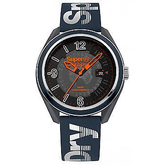 Superdry Osaka Sport SYG250U watch - Watch Orange and gray display analog man