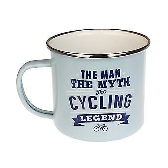 History & Heraldry Cycling Tin Mug 10