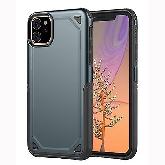 For iPhone 11 Case, Armour Shockproof Rugged Slim Protective Cover,Navy Blue