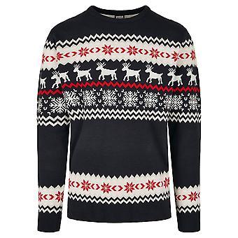Urban Classics heren Sweatshirt Noorse kerst