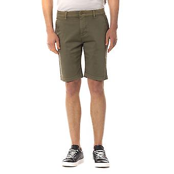 Men's Military Green Trussardi Shorts