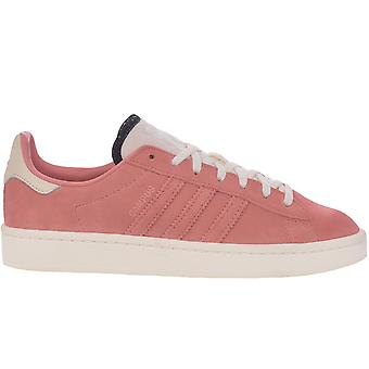 adidas Originals Womens Campus Suede Casual Trainers Sneakers - Tactile Rose