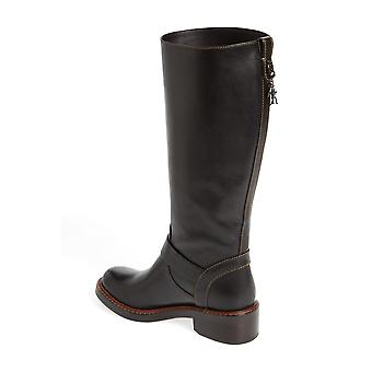 Coach Womens Sutton Leather Round Toe Knee High Fashion Boots
