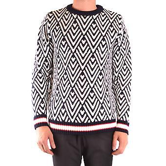 Brian Dales Ezbc126027 Men's Multicolor Wool Sweater