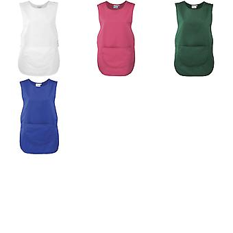 Premier Ladies/Womens Pocket Tabard / Workwear (Pack of 2)