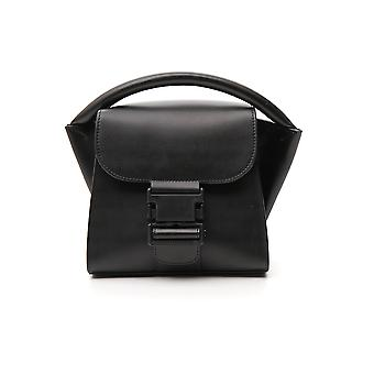 Zucca Zu99ag27226 Women's Black Leather Handbag