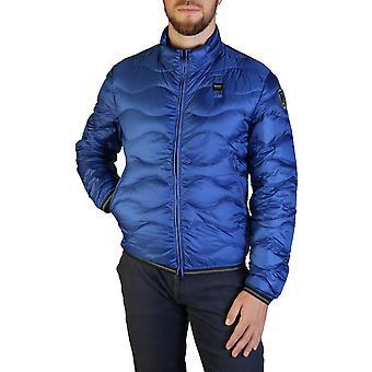 Blauer Original Men Fall/Winter Jacket - Blue Color 35678
