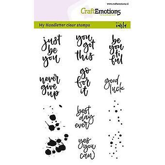 מקצועית בולים ברורים A6-בכתב יד-מגוונות (Eng) על ידי קרלה קמפאיס