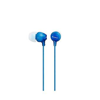 Headphones sony mdr ex15lp in-ear blue