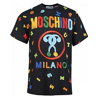 Moschino Couture All Over Magnets Print T-Shirt